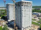 Ход строительства дома № 1 второй пусковой комплекс в ЖК Маяковский Парк - фото 20, Июнь 2021
